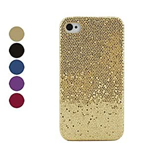 Shining Lagging Style Protective Case for iPhone 4 and 4S (Assorted Colors) --- COLOR:Red