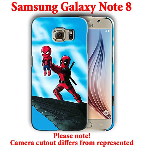Superheroes for Samsung Galaxy Note 8 Hard Case Cover (spider9)