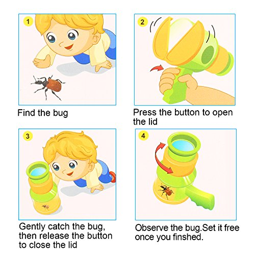 Bug Toys For Boys : Quadpro bug catcher and viewer for kids outdoor toys