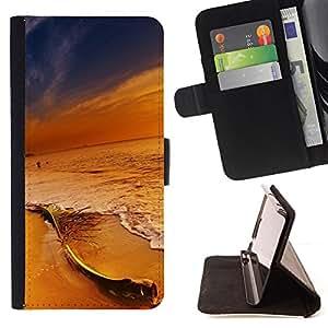 Jordan Colourful Shop - Sunset Beach Colors For Samsung Galaxy S5 Mini, SM-G800 - Leather Case Absorci???¡¯???€????€????????&ce