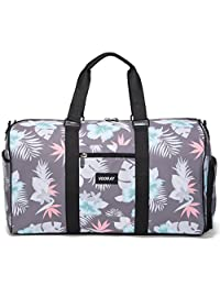 "Vooray Trepic 21"" Weekender Duffel Bag with Shoe Pocket, Mahalo Charcoal"