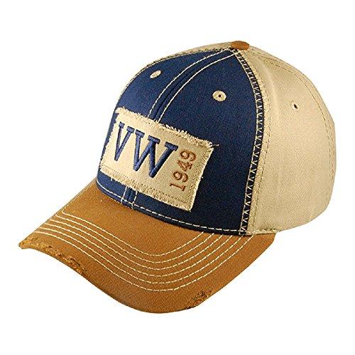 VW Volkswagen Genuine 1949 Heritage Baseball Cap Hat (Volkswagen Beetle Vintage)