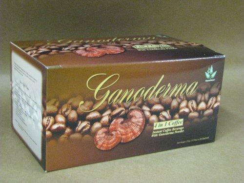 Ganoderma Lucidum Coffee - 4-1 Cafe Healthy Coffee with Ganoderma - Creamer and Sugar (20 Sachets)) by Diamond