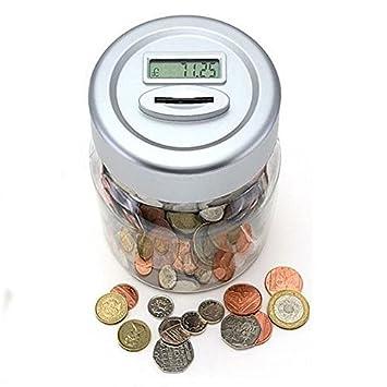 XXL Spardose Geldkassette Sparschwein Kinder Sparbüchse Geldspardose Metall NEU