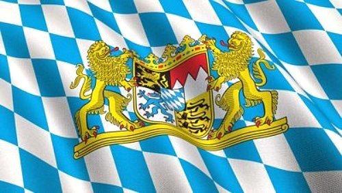 3x5 BAVARIAN FLAG Bundeslnder German State lion crest banner bavaria