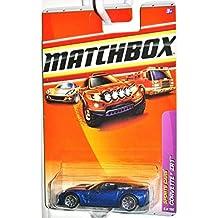 Matchbox 2010-6 Corvette ZR1 BLUE Sports Cars Series 1:64 Scale by Matchbox