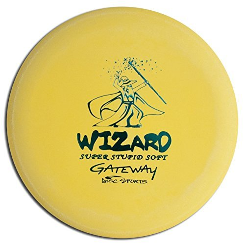 Gateway Super Stupid Soft Wizard Disc Golf Putt And Approach(colors may vary) by Gateway (Super Disc Wizard Gateway Soft)