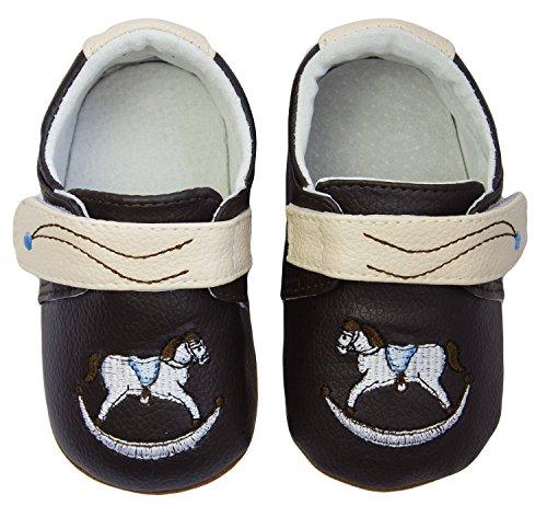 Rose & Chocolat Chaussures Bébé Rockabye Marron Taille 19 cm