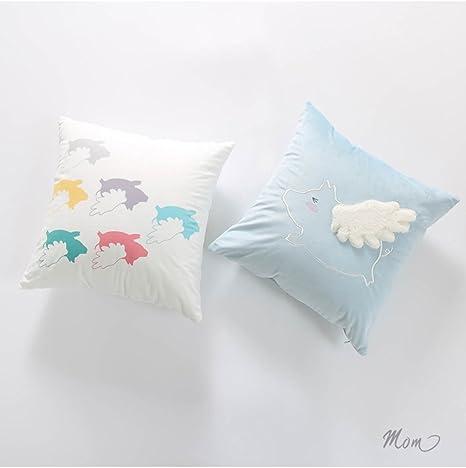 Cuscini Decorativi Per Bambini.Here There Bambino Cuscino Guanciale Bedrucken Nuvole Decorativa