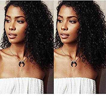 Amazon Com Eayon Hair Pre Plucked 360 Lace Frontal Wigs With Baby