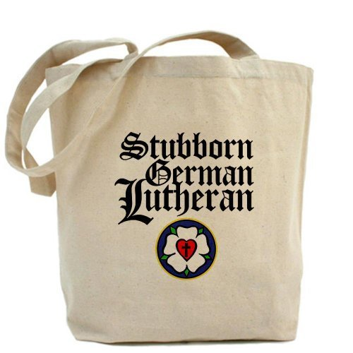 ostinato tedesco Lutheran Christian Tote bag by Cafepress by Cafepress