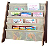 Naomi Home Kids Toy Sling Bookrack Espresso/Cream