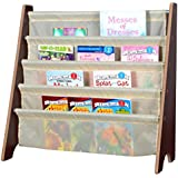 naomi home kids toy sling book rack