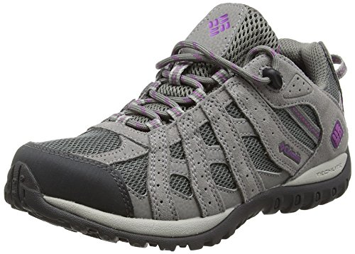 Image of Columbia Women's Redmond Waterproof Hiking Shoe, Charcoal, Razzle, 6.5 B US