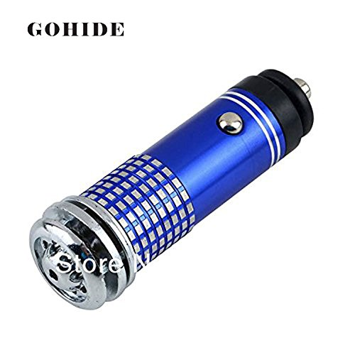 Gohide Selling In Single Piece Mini Auto Car Fresh Air Purifier Oxygen Bar Freshers Ozone Car Ionic Air Cleaner Air Purifiers HSU