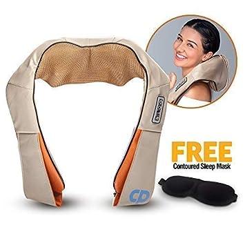 Elektrische Massagegeräte Elektrische Massagegerät Mit Wärmefunktion Für Schulter Nacken Rücken De Haushaltsgeräte