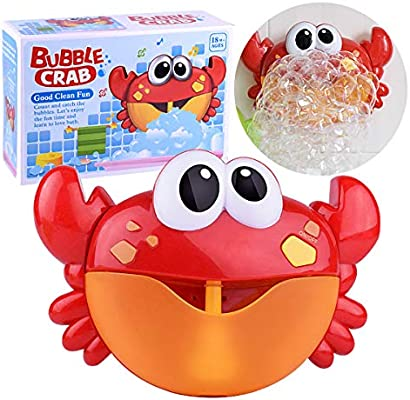 Baby Toy Crab Bubble Machine 35 Songs Musical Bubble Maker kids Bath Shower Toy