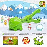 Snowball Maker Cut the rope -Om-nom Snowball Maker Tool with Handle for Snow Ball Fights, Fun Winter Outdoor Activities and More, for Kids and Adults-Nommies game Snowball Maker Cut the rope toys