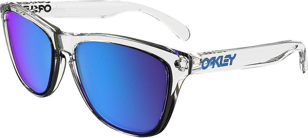 Oakley 0OO9013 Gafas de Sol, Polished Clear, 54 para Hombre
