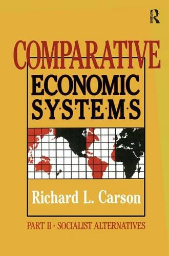Comparative Economic Systems: v. 2