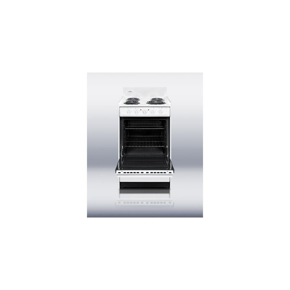 Amazon.com: Summit WEM110 Kitchen Electric Cooking Range, White ...