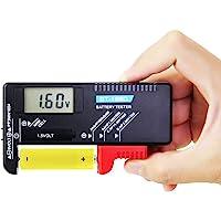 FangWWW 12 V 24 V LCD Auto S/äure Blei-Lithium-Batterie Kapazit/ätsanzeige Tester Power Meter