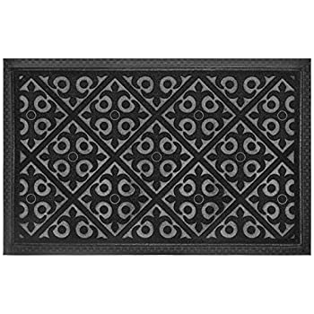 this item elogio door mat indoor outdoor doormats outside effective scraping of dirt patio grass moisture snow dust and grit removal ideal low profile