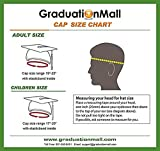 GraduationMall Shiny Adult Graduation Cap with 2020 Tassel for High School and Bachelor Royal
