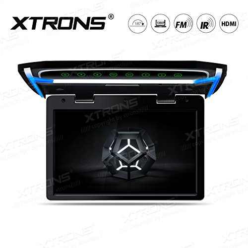 XTRONS 10.2 Inch Digital TFT Screen 1080P Video Car Overhead Player Roof Mounted Monitor HDMI (Best Car Monitor With Hdmi Ports)