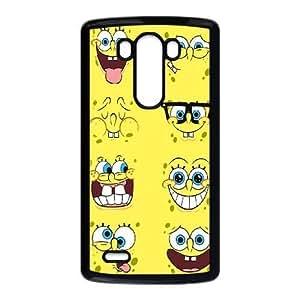 LG G3 phone case Black Sponge Bob CHR4578765