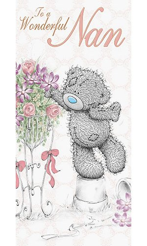 Tatty Teddy in Basket with Gift Me to You Bear Card by Me To You eWBhTD6Jy