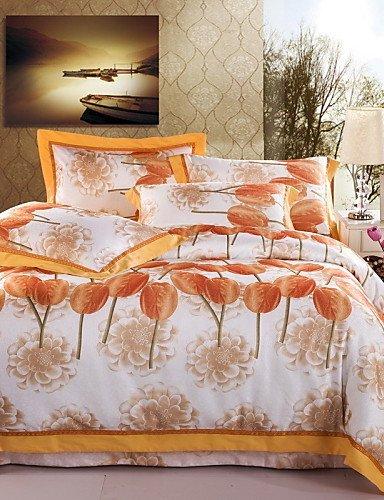 ZQファッションパーソナリティスタイル高級中空雨綿4枚ウェディング寝具テキスタイルコットンリネンキルト1.5 m-1.8 mベッド/ ¶</寝具セット キング 8096525887747 B01GLBEA2U  キング