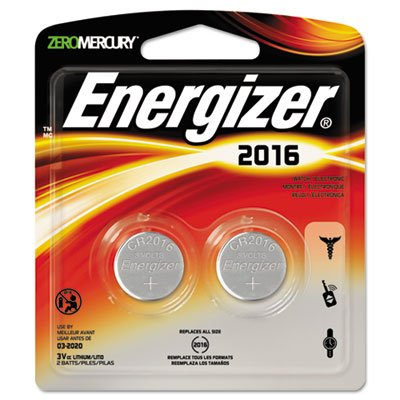 Watch/Electronic/Specialty Battery, 2016, 3V, 2/Pack (5 Pack) ()