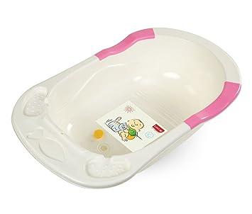 Buy LuvLap Baby Bathtub with Anti-Slip (Pink) Online at Low Prices ...