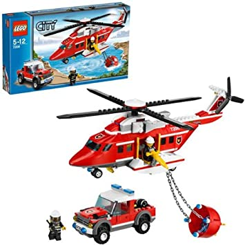 LEGO City 7206: Fire Helicopter