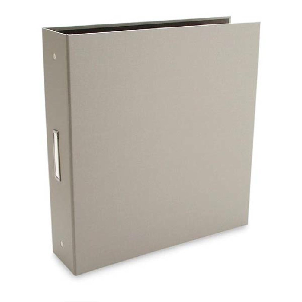 "Pina Zangaro Bex Gray 3-Ring Binder, 8.5 x 11, 2"" Capacity (36415)"