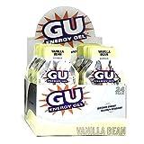 Gu Energy Gel-dietary Supplements, Vanilla Bean 24 Ea (Pack of 3)