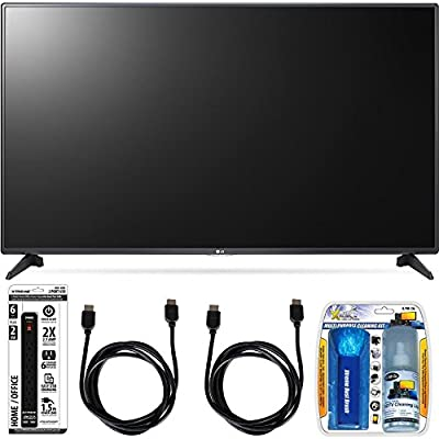 LG 55LH5750 55-Inch LH5750 1080p Smart Full HD TV Accessory Bundle includes Television, Screen Cleaning Kit, Power Strip with Dual USB Ports and 2 HDMI Cables