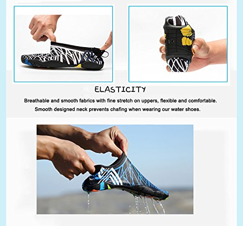 Pool Aqua Socks Womens for Swim Barefoot Quick Water Dry black Water Surf Beach Sports Shoes Shoes Mens Shoes Hc Yoga Aerobics xnqwpv