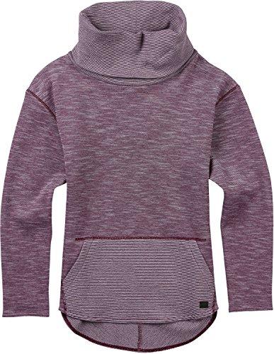 Burton Women's Elmore Pullover, Starling Heather, (Burton Womens Shirt)