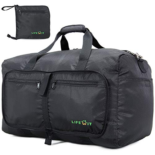 Lifewit Packable Sport Gym Bag with Free Shoes Pouch Large Luggage Travel Duffel