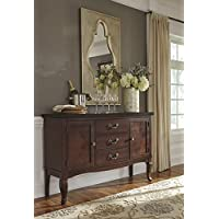 Gladdinville Brown Color Dining Room Server