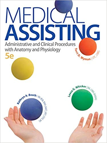 Medical Assisting 5e With Access Code For Connect Plus Kindle Edition By Booth Kathryn Whicker Leesa Wyman Terri Professional Technical Kindle Ebooks Amazon Com