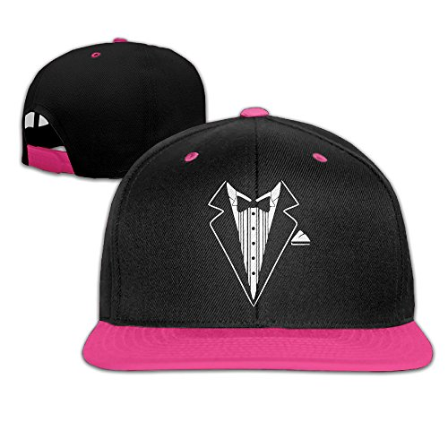 Costume Hitman 47 (Tuxedo Jacket Costume Snapback Hip Hop Baseball Caps Pink)