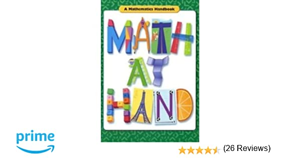 Math at Hand: Handbook (Softcover) Grades 5-6 2004: GREAT SOURCE ...