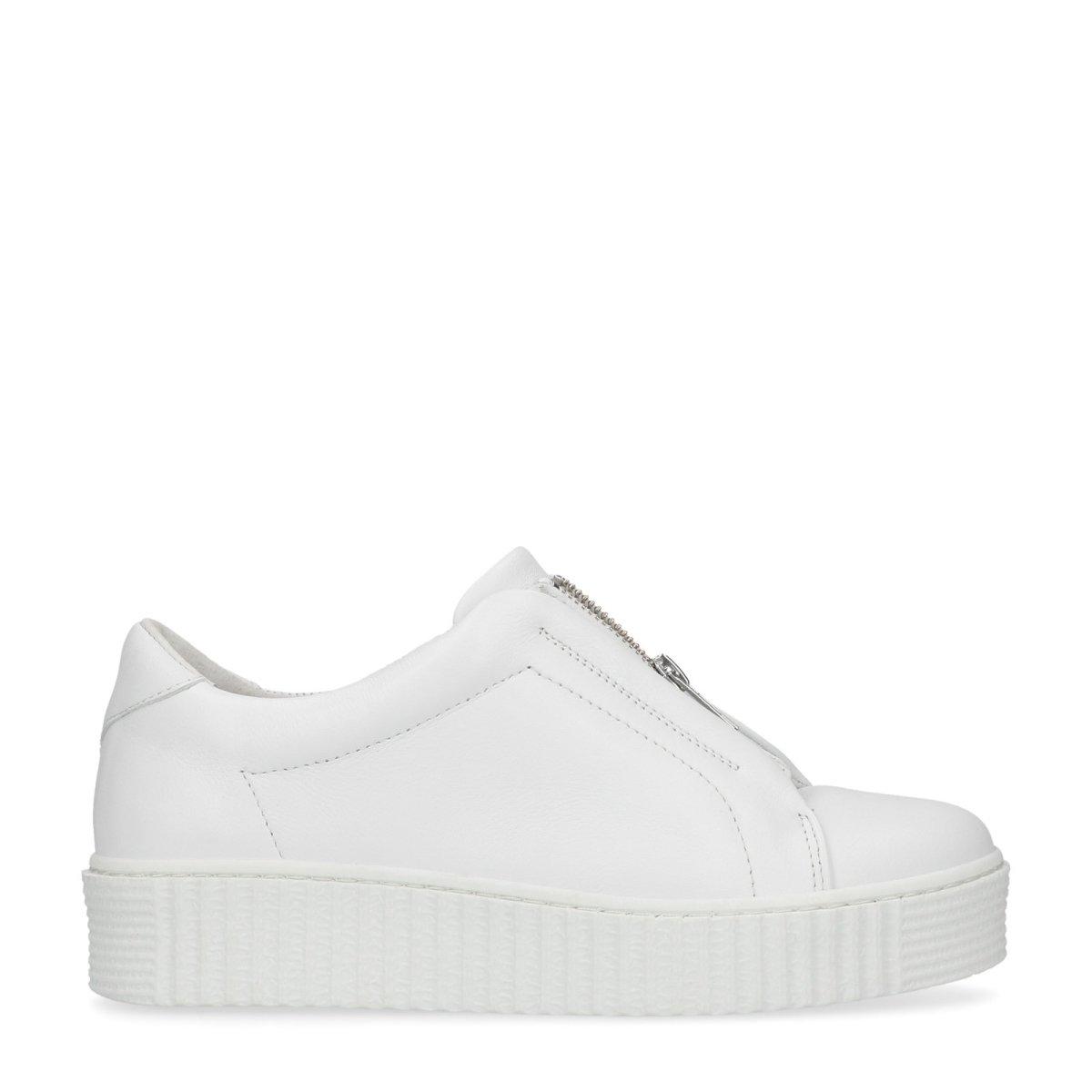 Sacha Schuhe   Damen Turnschuhe Low     Leder   Farbe  Weiß 08c525