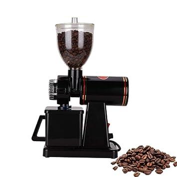 La amoladora de café eléctrica semi-automática, conveniente para el hogar y el negocio, puede acomodar 5 a 10 tazas, 220V,b: Amazon.es: Hogar