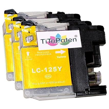 Cartuchos de impresora compatible para Brother LC 123, LC de 127 ...