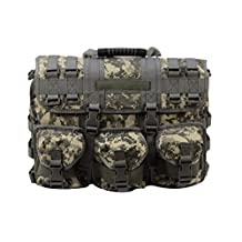 Army Digi Camo Military Tactical Style Messenger Bag With Laptop Sleeve