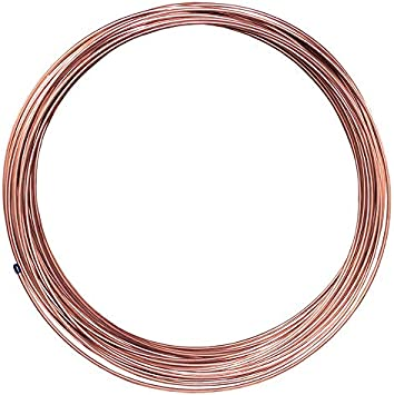 """100 ft  3//16 in Copper-Nickel Brake Line Coil 0.028/"""" Wall Thickness"""